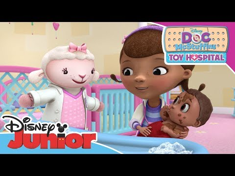 Doc McStuffins   Baby Bath Time   Official Disney Channel Africa