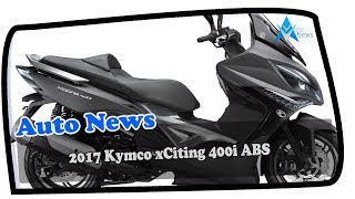 2. MUST WATCH!!! 2017 Kymco xCiting 400i ABS Price & Spec