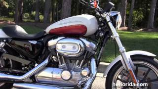8. Used 2012 Harley Davidson Sportster Superlow Motorcycles for sale