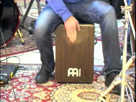 Luciano De Fortuna - cajon studi- samba groove
