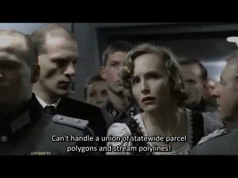 Adolf Hitler Furious At ESRI Software