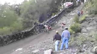Trabas motocross tanjakan paling berbahaya Video