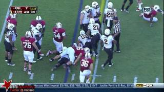 Carl Bradford vs Stanford  (2013)