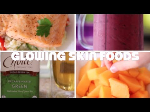 5 Foods For Glowing Skin (MY Healthy Skin Diet)   Rachel Talbott