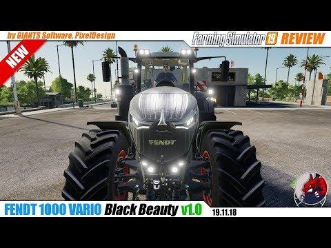 Fendt 1000 Vario Black Beauty v1.0.0