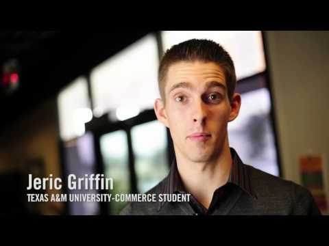Jeric Griffin talks about his experience at Texas A&M University-Commerce