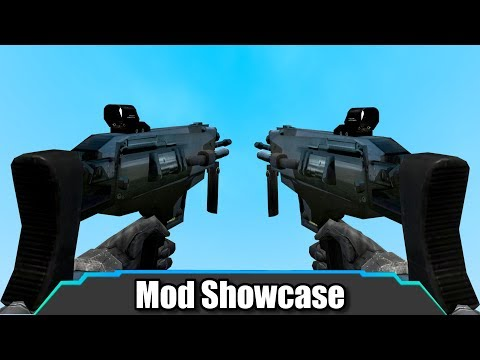 Garrys Mod - Garry's Mod  These New Combine Weapons Are AMAZING  Mod Showcase