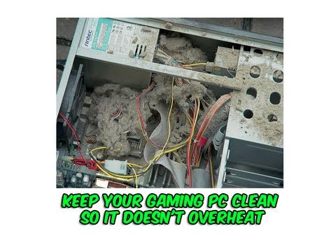 how to properly clean your gaming computer