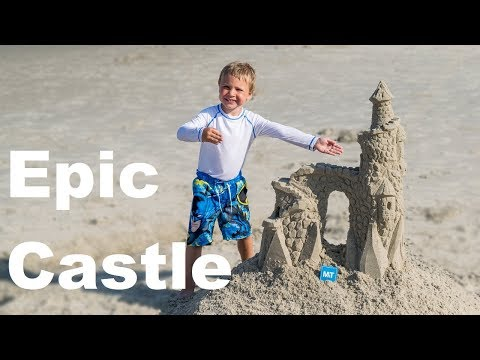 How to Make an Epic Sand Castle with Simple Tools | Our Outer Banks, NC Vacation Project 2018
