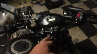 8. Kawasaki Z125 Pro - Misc changes