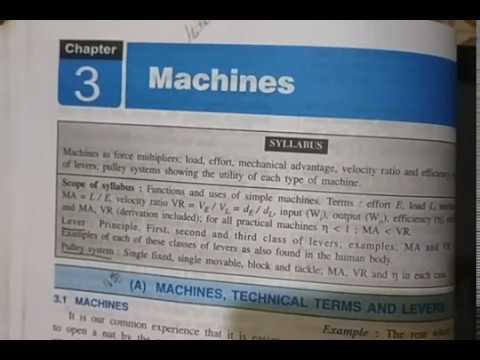 ICSE Class 10 Physics - Ch-3 Mechanics