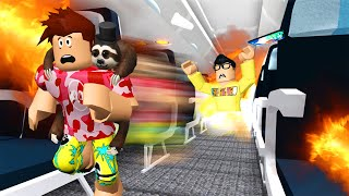 We Went On A Roblox FLIGHT.. NEVER AGAIN!