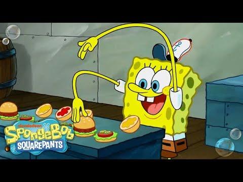 Top 13 Krabby Patty Moments! 🍔 #TBT   SpongeBob