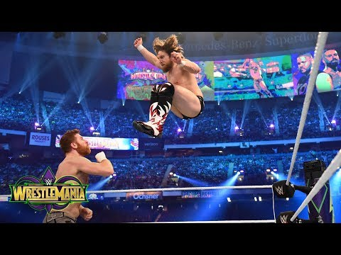 Video Daniel Bryan unleashes on Sami Zayn and Kevin Owens during his in-ring return: WrestleMania 34 download in MP3, 3GP, MP4, WEBM, AVI, FLV January 2017