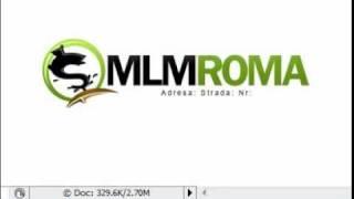 Realizare Sigla/logo In Photoshop MLM ROMA