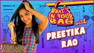 Preetika Rao aka Mohini Reveals What's In Her Bag | What's In Your Bag | Love Ka Hai Intezaar