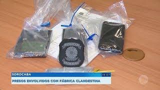 PF prende suspeitos de envolvimento com fábrica clandestina de cigarros em Piedade
