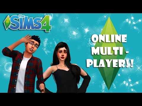 The Sims 4: PLAYING WITH ONLINE MULTIPLAYER! (Multiplayer Mod Test w/ Onlyabidoang)