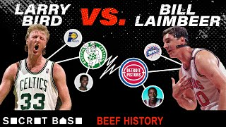 Larry Bird and Bill Laimbeer have genuinely hated each other for over 30 years by SB Nation