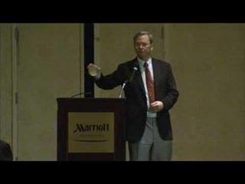 Eric Schmidt at Virginia Business Higher Education Council