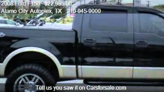 2008 Ford F150 Lariat SuperCrew Short Box 4WD - for sale in