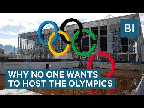 Why Hosting The Olympics Isn't Worth It Anymore (видео)