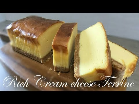 Rich Cream Cheese Terrine Easy Recipes~ASMR Cooking