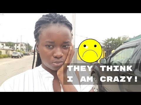 THEY THINK I AM CRAZY! VLOGGING IN LAGOS