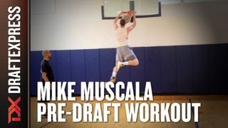 Mike Muscala - 2013 NBA Pre-Draft Workout & Interview