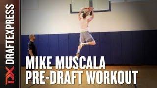 Mike Muscala - 2013 NBA Pre-Draft Workout & Interview
