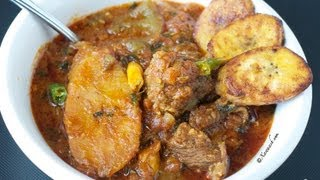 Somali Plantain Stew (Maraq Moos Bukiini)    