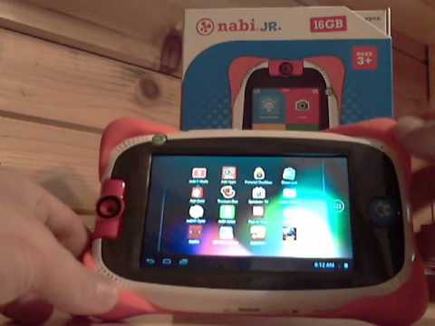 Nabi Jr Nick Jr Video Review - Best Tablet for ages 2 to 5