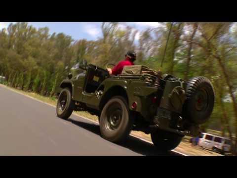 Jeep original al estilo guerra