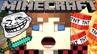 How to Troll Minecraft Youtubers - TheBajanCanadian