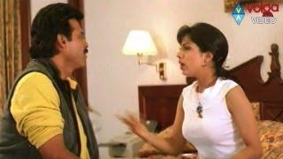 Venkatesh Brhamanandham comedy .. Simran, Prematho Raa Venkatesh