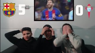 Download Video REAL MADRID FAN REACTS TO BARCA'S HUMILIATION VS CELTA 5-0!!!! MP3 3GP MP4
