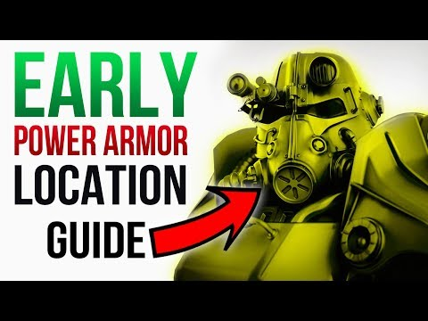 Fallout 76 - 6 POWER ARMOR Spawn Locations To Visit EARLY (Full Set)!