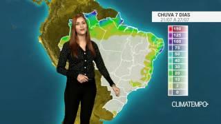 A colheita de café em Caconde está sendo realizada no período da noite, por causa do tempo seco. Confira como fica o acumulado de chuva para todo o Brasil nos próximos dias.