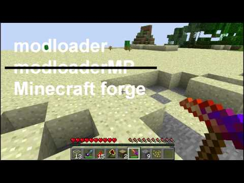 MUST SEE: What is Modloader, Minecraft Forge for Minecraft 1.2.5