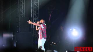 Kanye West Performs At Odd Future Carnival, Becomes Tyler's Hype Man