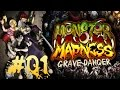 Let s Play Monster Madness Grave Danger 01 Zombies Fres