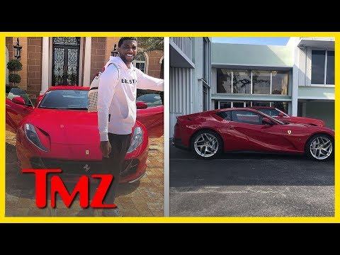 Gucci Mane Skips The Wait List For $600K 2018 Ferrari | TMZ BUZZ