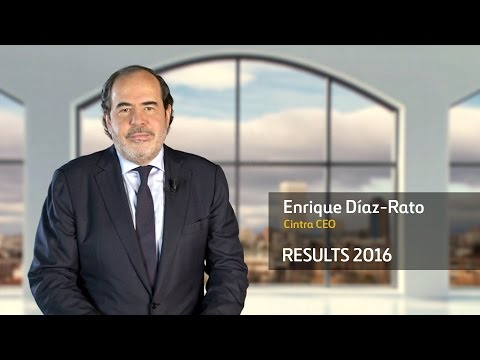 Ferrovial Results 2016- Enrique Díaz-Rato, CEO of Cintra