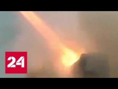 Атака на авиабазу Т-4: Сирия неприятно удивила неизвестного агрессора - Россия 24 - DomaVideo.Ru