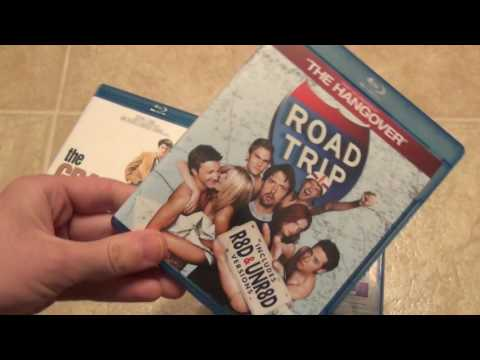5 Random Blu-Ray Titles Unboxing - Road Trip Daddy's Home Blind Side