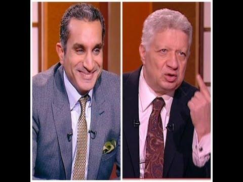 عمرو الليثي يرفض استغلال مرتضى منصور لبرنامجه في عرض صورة مسيئة لباسم يوسف