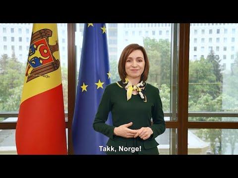"""Президент Майя Санду пожертвует Премию имени Сьюра Линдебрекке, 5  000 евро, организации """"SOS Autism Moldova"""""""