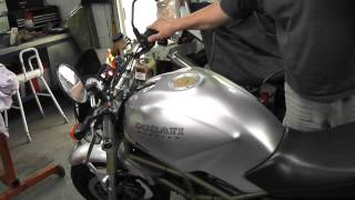 3. Ducati Monster 750 Exhaust Note - High level Termignoni exhaust M750