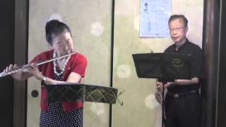 たなばたミニコンサート2・フルートとピアノ演奏