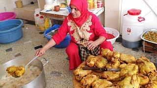 زردة مغربية في حفل عقيقة مع لالة حادة (السبوع)